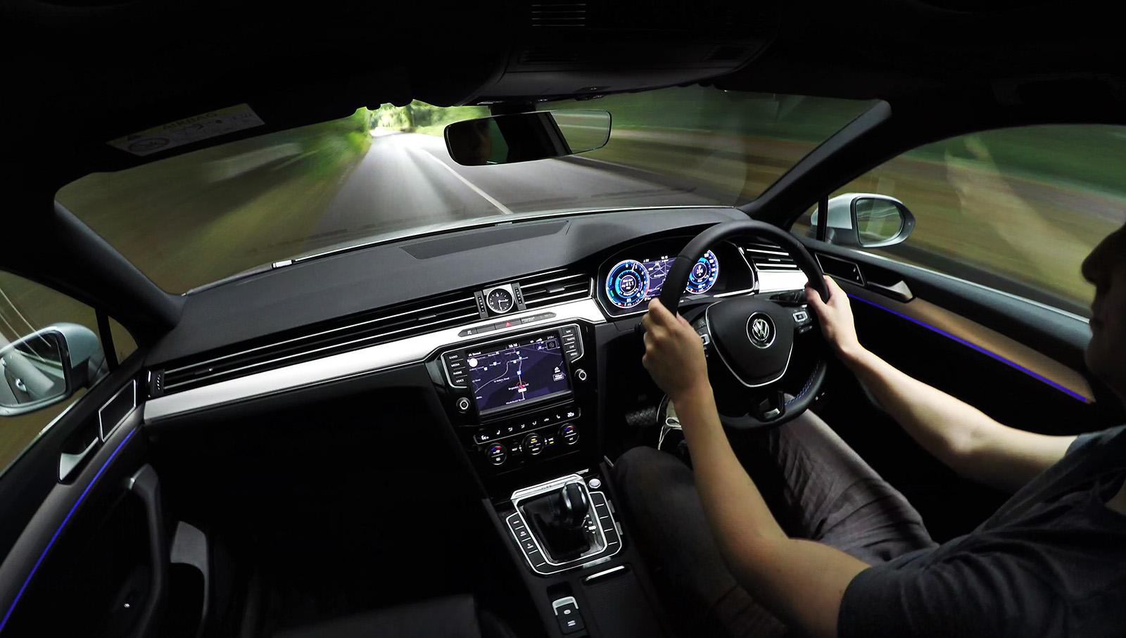 Jonathan Musk in Volkswagen Passat GTE