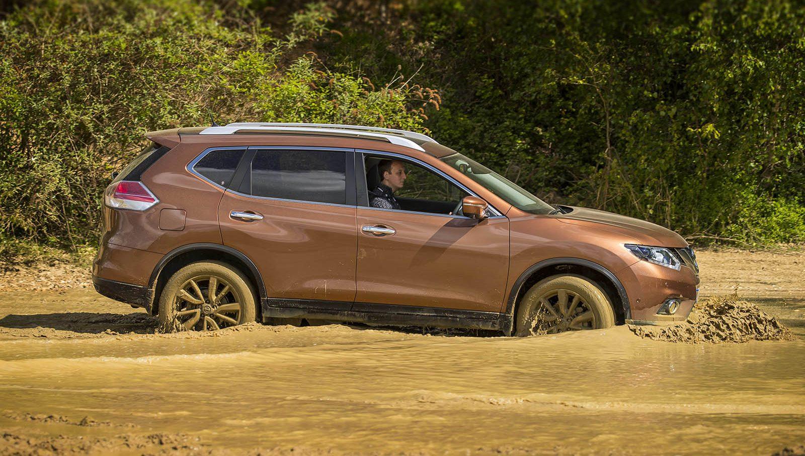 Jonathan Musk driving Nissan X-Trail